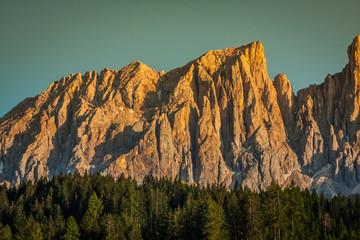 Dolomiti - Latemar at sunset light