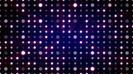 purple flashing light bulbs loopable background