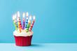 Birthday cupcake - 69846158