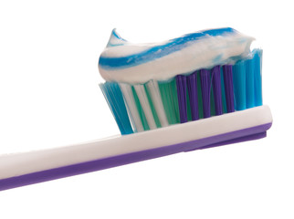 Light-violet toothbrush