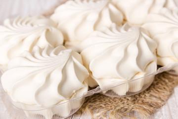 Sweet vanilla marshmallows