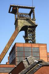 mine de charbon de petite rosselle lorraine france