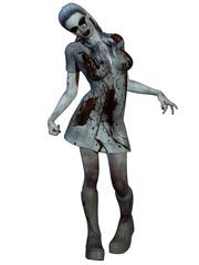 Halloween Creature - Bloody Nurse