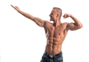 Bodybuilder in Pose