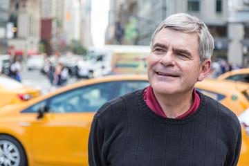 Senior Man Portrait in New York