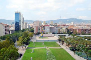 Plaza España. Barcelona