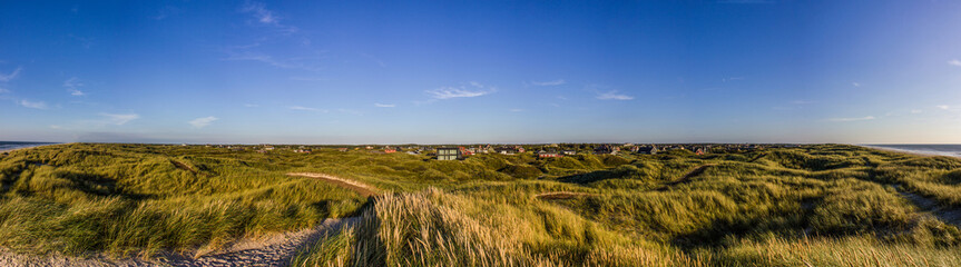panorama vejers strand danmark