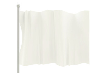 旗 flag 白