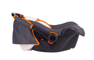 Child car seat side view.