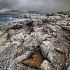 Cruit Island - dramatic landscape