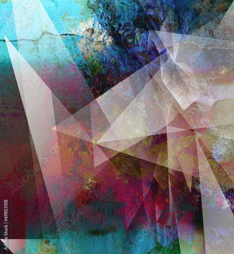 leinwand textur grunge © bittedankeschön