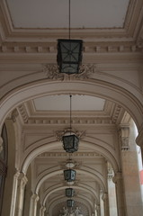 Old style lamps of the National Museum of Romanian History