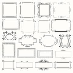 vector_picure frames