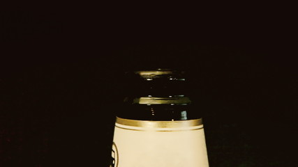 Beer bottle cap open with audio
