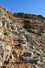 Mountain way to Loutro