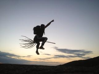 süpürge ile uçmak