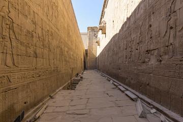 Nilometro en el templo de Edfu
