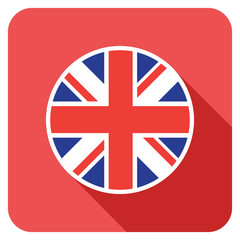 a uk flat flag icon
