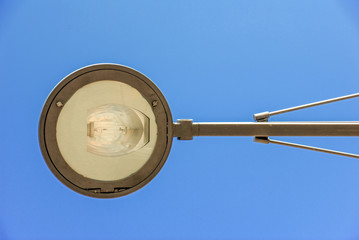 Lamppost during the day