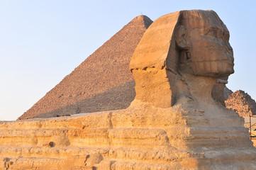 The Sphinx of Giza - Cairo, Egypt