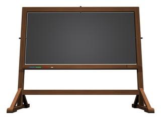 School blackboard - 3D render