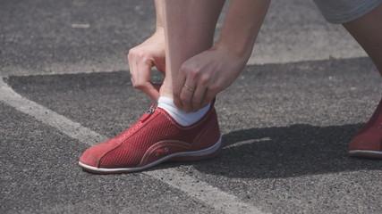 corrects runner sneaker