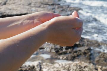 La raccolta dell'acqua