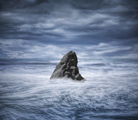 The Rock Middle of the Ocean