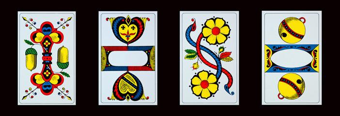 Spielkarten - Jassen - ASSE