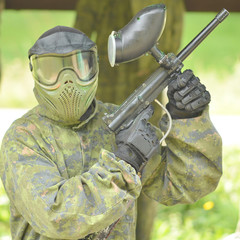 paintball fighter