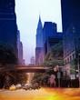Obrazy na płótnie, fototapety, zdjęcia, fotoobrazy drukowane : Streets of NYC.