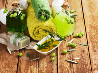 Green olive spa