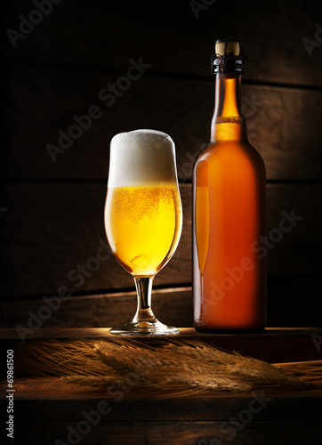 canvas print picture beer