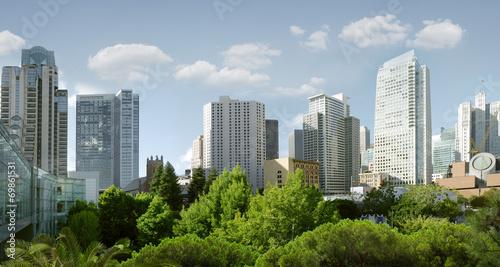 canvas print picture city