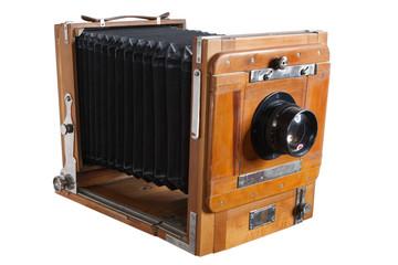 Old Wooden Big Format Camera