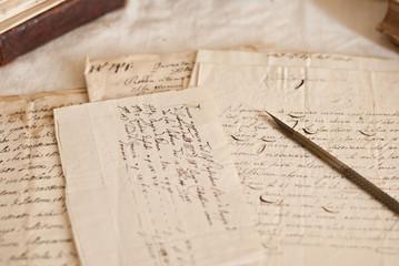 Manoscritti e pennino
