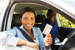 african student driver passes driving test