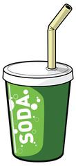 gobelet soda vert