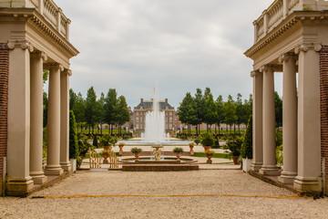 Zicht op paleis het Loo, Apeldoorn
