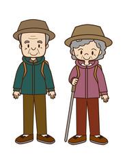 高齢者の山登り