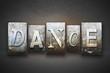 Dance Letterpress - 69866998
