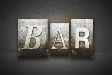 Bar Letterpress