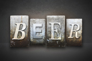 Beer Letterpress