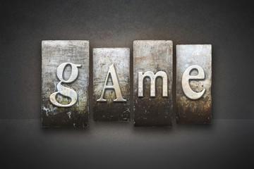 Game Letterpress