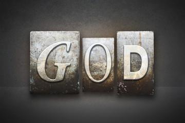 God Letterpress