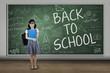 High school student back to school