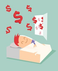 Passive income, earn money while sleeping