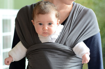 Newborn Baby Sling and Wrap