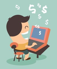 Making money from online activity
