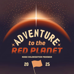 Adventure to the red planet